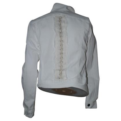 Blumarine giacca bianca Denim