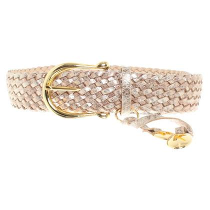 Michael Kors cintura color oro