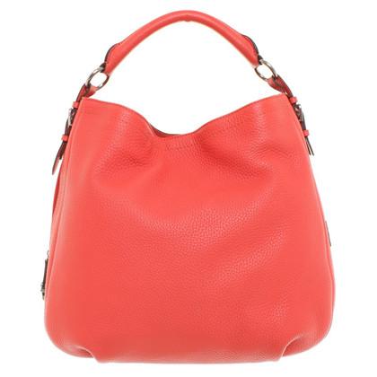 Bogner Handtasche in Korallrot