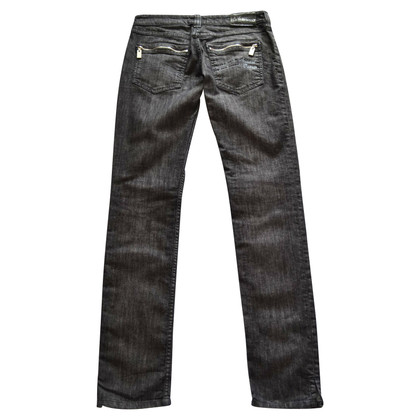 Armani Jeans Jeans met strass applicatie