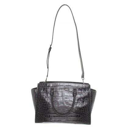 "Michael Kors ""Selma"" crocodile leather"