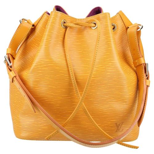 dd774f0b96a7 Louis Vuitton Handbag in Yellow - Second Hand Louis Vuitton Handbag ...
