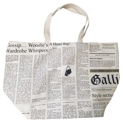 "John Galliano Schoudertas ""Gazette"""