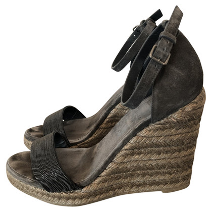 Brunello Cucinelli wedges