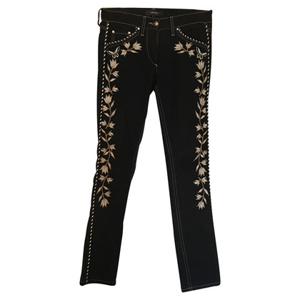 Isabel Marant Jeans with flower stitching