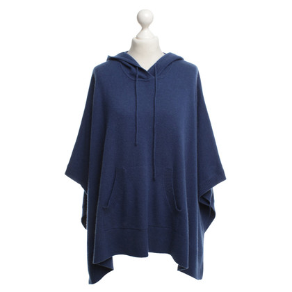 Diane von Furstenberg Cape in blue