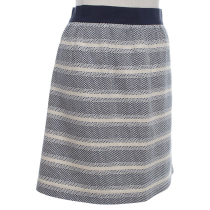 Stefanel skirt with stripe pattern