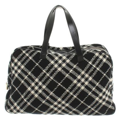 Burberry Handbag with plaid