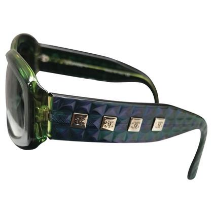 Chanel Chanel lunettes groene