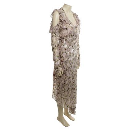 Preen combinazione wrap dress