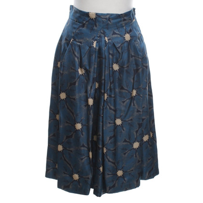 Moschino Silk skirt with pattern