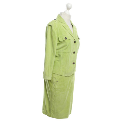 Marc Cain Wild leather costume in light green