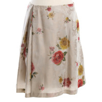 Kenzo skirt with floral pattern