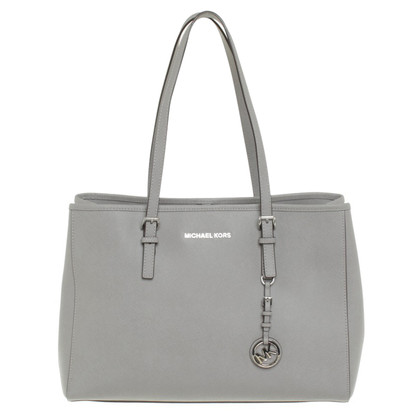 "Michael Kors ""Jet Set Travel LG Tote Pearl Grey"""