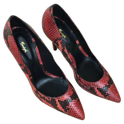 The Kooples SNAKEPRINT pumps