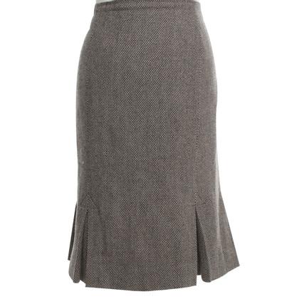 Hobbs skirt with box folds