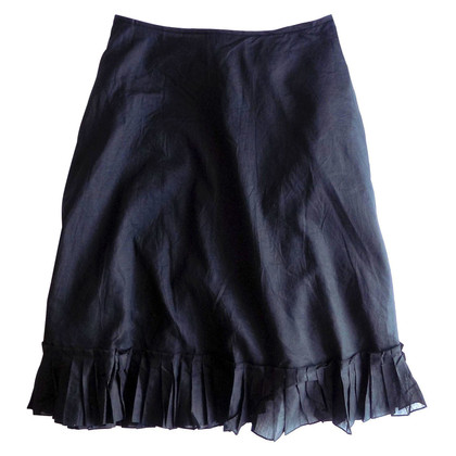DKNY Wrap skirt with pleats
