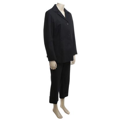 Jil Sander Cotton suit in blue