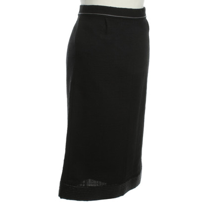 Marc Jacobs MIDI skirt in black