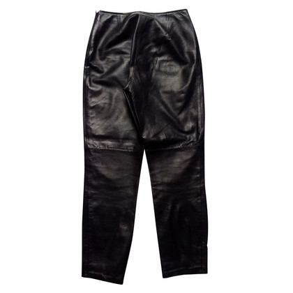 Moschino leather pants