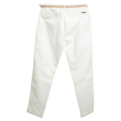 Maison Scotch trousers in white