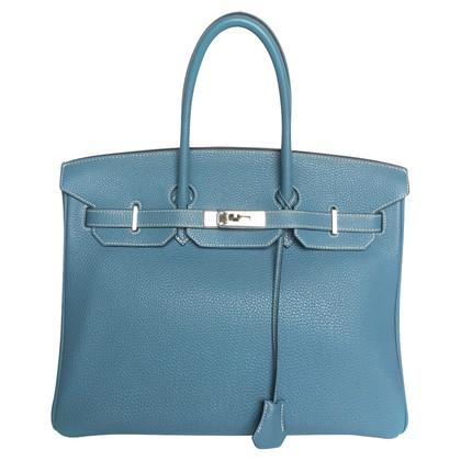 Hermès Birkin 35cm Togo Blue Jean