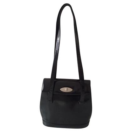 Gianni Versace Schwarze Bucket Bag