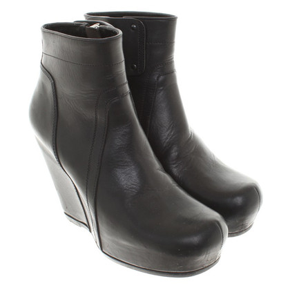 Rick Owens Boots Wedge