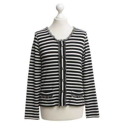 Marc Cain top with striped pattern