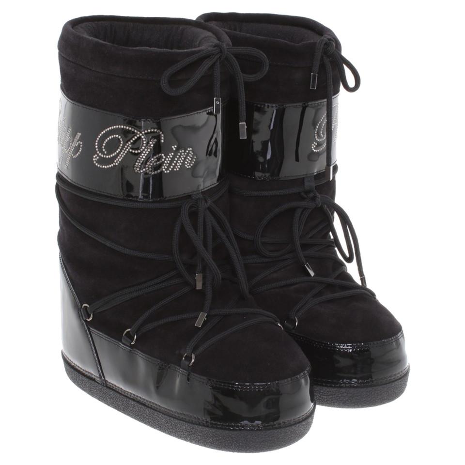 philipp plein bottes en noir acheter philipp plein bottes en noir second hand d 39 occasion pour. Black Bedroom Furniture Sets. Home Design Ideas
