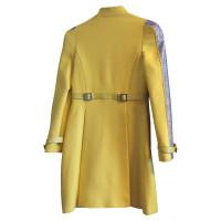 Versace Wool coat in yellow