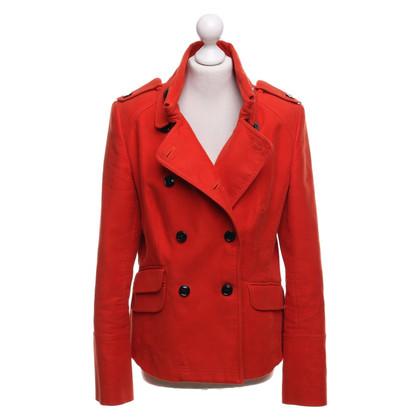 Karen Millen Jacket in orange-red