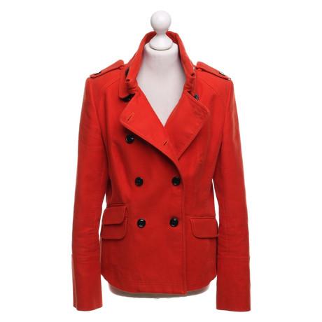 Karen Millen Jacke in Orange-Rot Rot Spielraum Empfehlen Spielraum Aus Deutschland Perfekt Perfekt d1hd3JhSS4