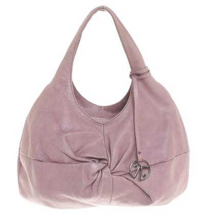 Coccinelle borsa in pelle rosa