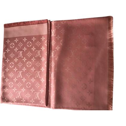 Louis Vuitton Sciarpa del monogramma in rosa