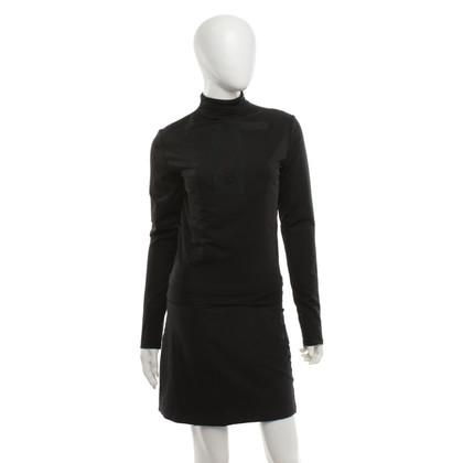 Fendi Long sleeve shirt in black
