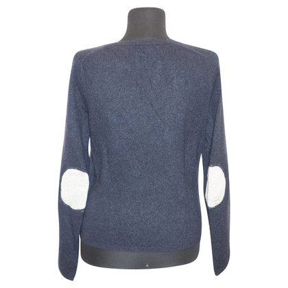 FTC Cashmere cardigan in dark blue