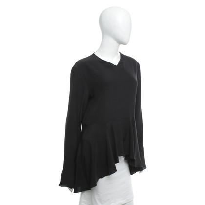 Chloé Zijden top in zwart