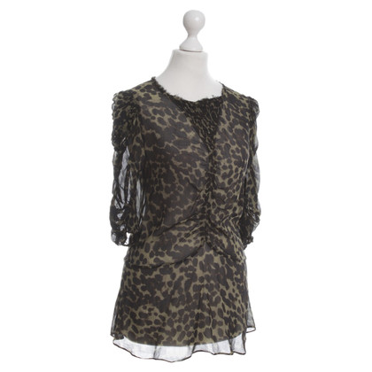 Isabel Marant Blusa stampa animale