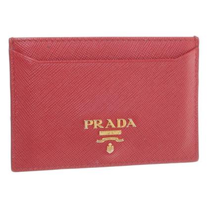 Prada Kaarthouder in het rood