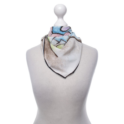 Moschino Cheap and Chic Foulard en soie avec motif