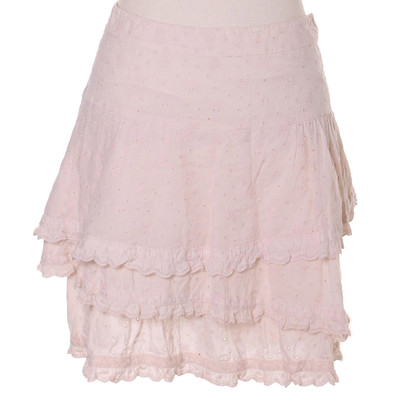 Marc by Marc Jacobs skirt with hole embroidery