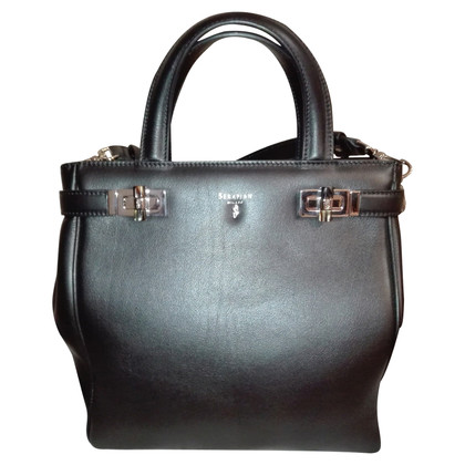 Serapian Handbag made of nappa leather