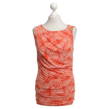 Michael Kors top with batik pattern