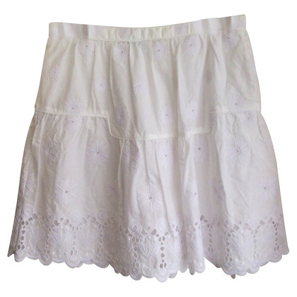 Diane von Furstenberg skirt in white