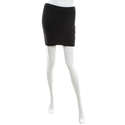 Sonia Rykiel Knitted skirt in black