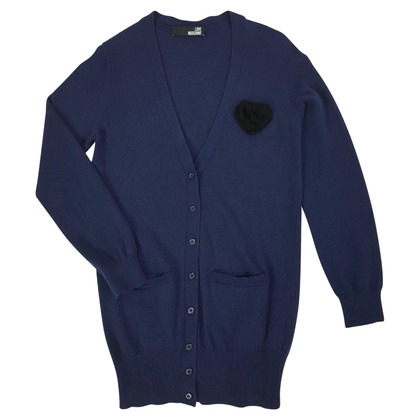 Moschino Love cardigan bleu