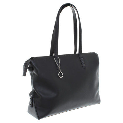 Mont Blanc Shopper in nero