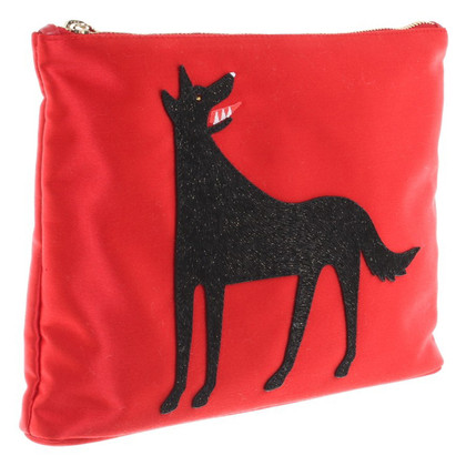 Charlotte Olympia Bag with wolf application