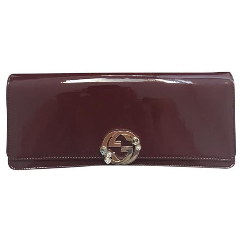 ff1225f7c4e Gucci Patent leather clutch - Second Hand Gucci Patent leather ...